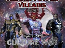 The Inept Super Villains:  Episode 37 Culture War