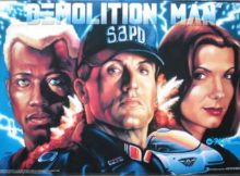 Movie the podcast : Demolition man